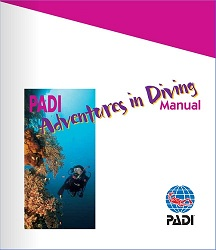 PADI online course manual